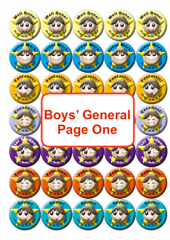 Boys General Page One