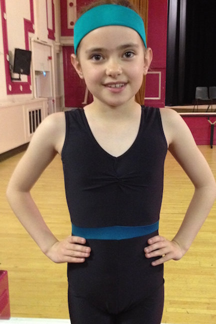Junior Class Leotard with Skirt FROM