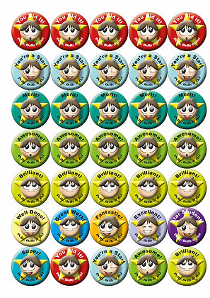 General (BOYS) Stickers