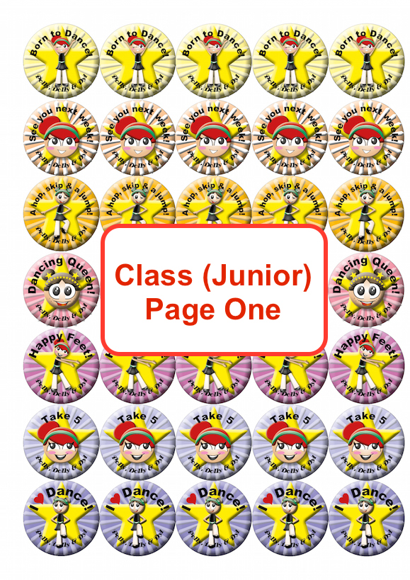 Class Junior Page One
