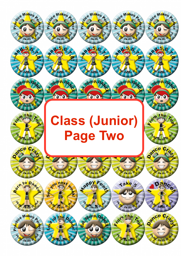 Class Junior Page Two