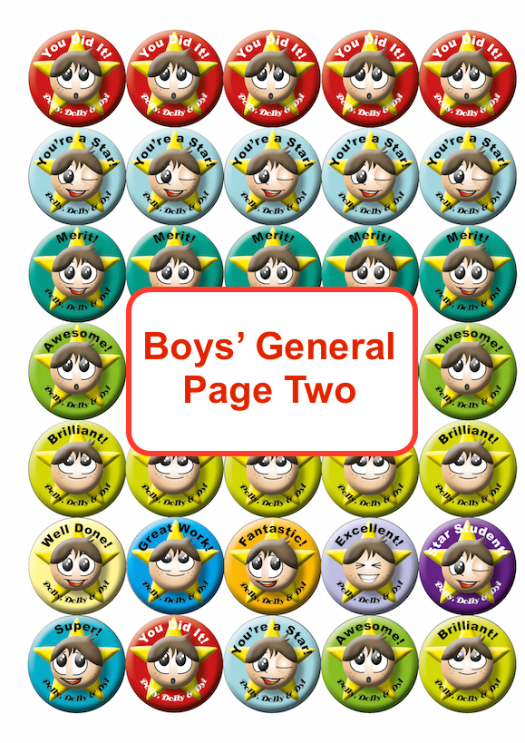 Boys General Page Two