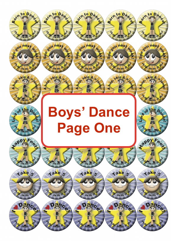Boys Dance Page One