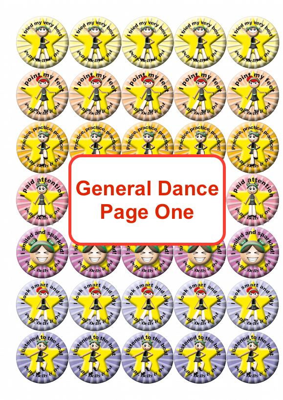 Dance General Page One