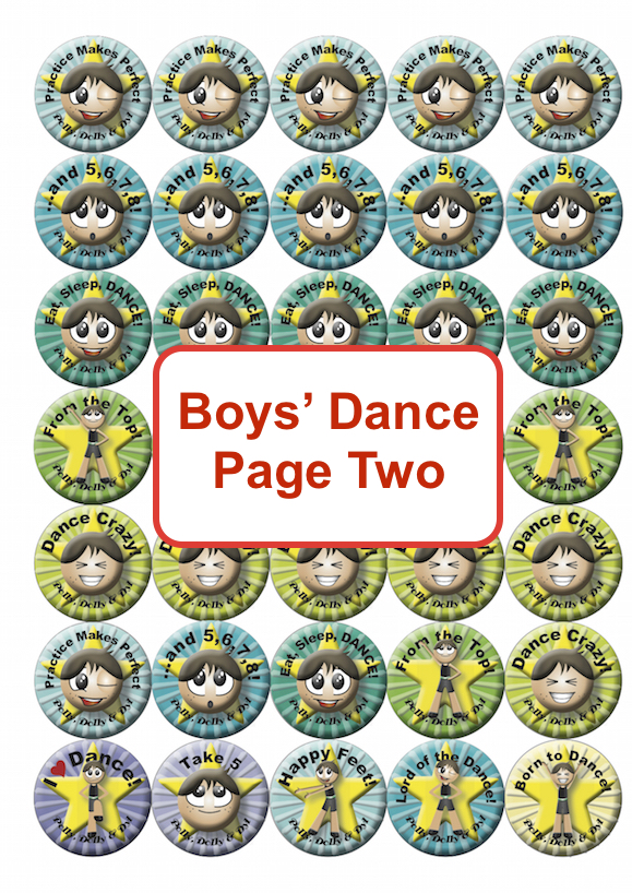 Boys Dance Page Two