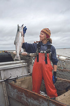 Krystal TenKley -  BBay salmon fisher -
