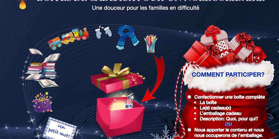 Les boîtes de cadeau pour un 𝐍𝐨ë𝐥 Solidaire