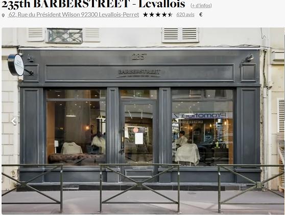 Coupe Suspendue chez 235th barber street Levallois