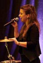 SOPHIE, Sängerin der Takanakaclubband, live bei Eumetsat, Darmstadt