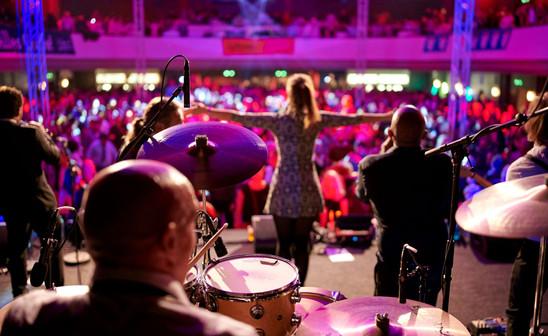 Sophie Becker, Sängerin. Vocals live Frankfurt
