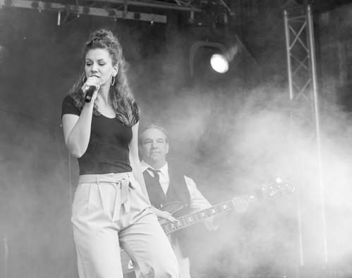 Stageshot black and white: SOPHIE in Ingelheim