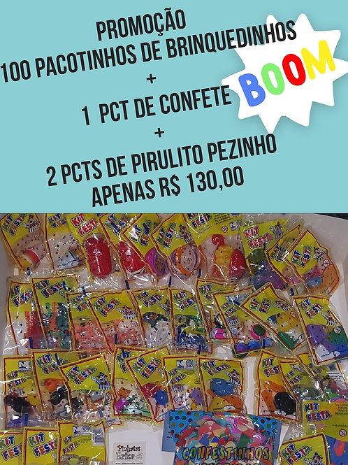 cópia de Kit 100 Pct de Brinquedinhos