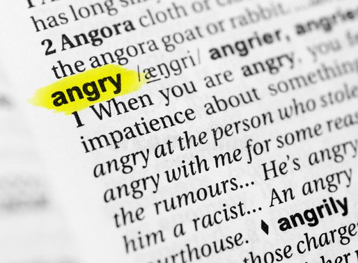 Angry with God - Cassie Segerson, LPC-Intern, LCDC-CI