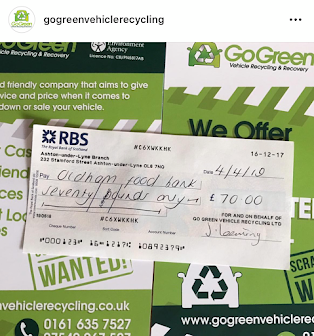 Scrap your car for charity