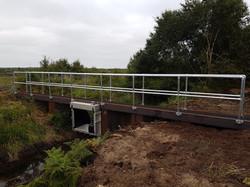 Tilting Weir Installation Complete
