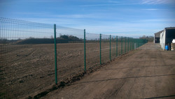 Security Fencing Erected