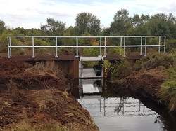 Tilting Weir Installation