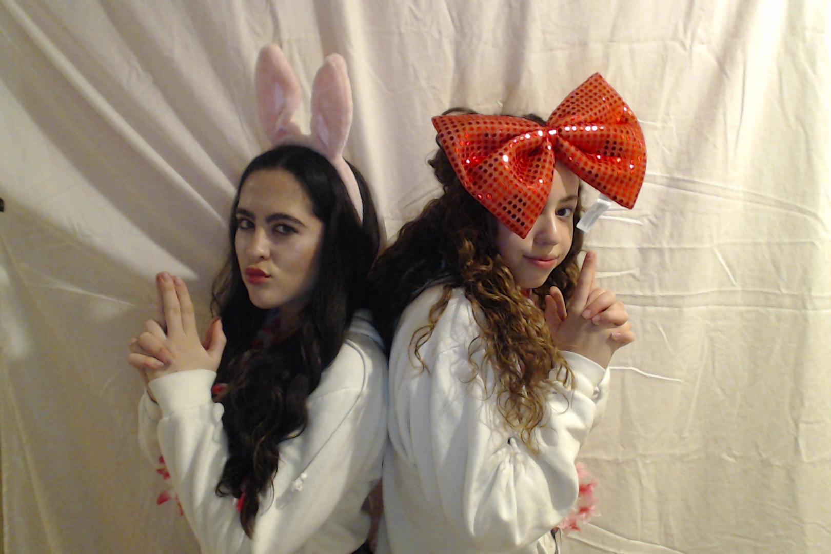 Michelle and Sophia 14th birthday012-2018-03-10singles