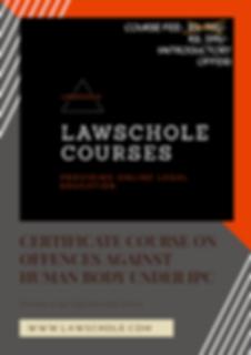 Lawschole Courses