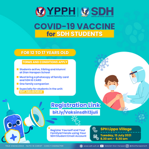 Support the Vaccination in SDH Jabodetabek