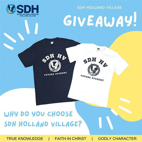 SDH Holand Village GIVEAWAY TIME!