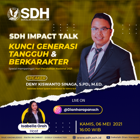 SDH Impact Talk: The Key to the Generation of Tough & Character