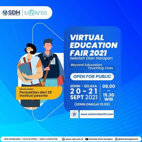 SDH Virtual Edufair Open for Public