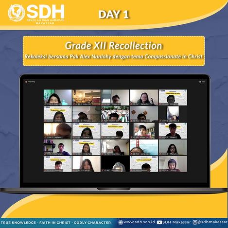 Rekoleksi SDH Makassar grade 12