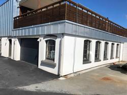 front fasade v-port og lager
