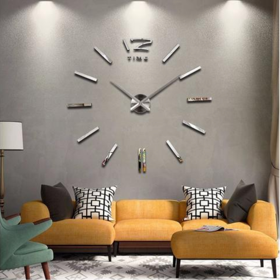 decorate with wall clocks