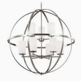 geometric light fixture
