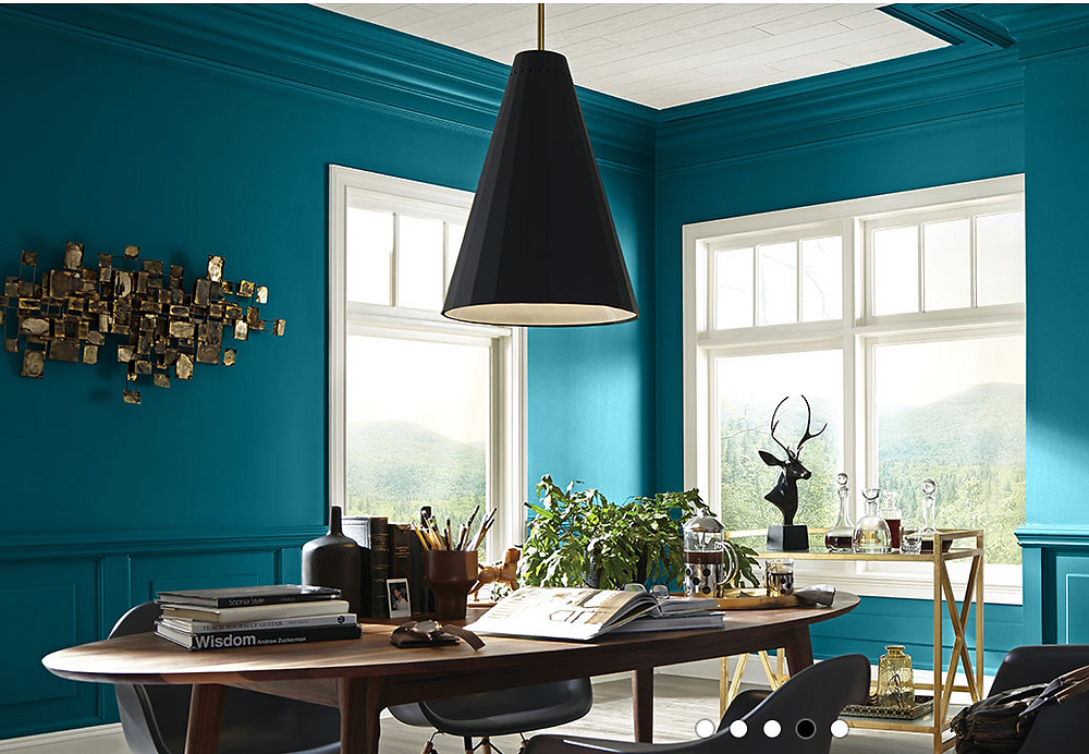 Sherwin Williams blue: Oceanside