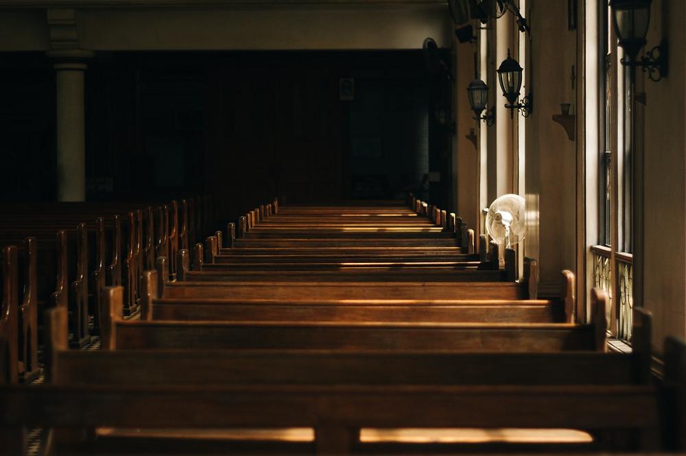 quiet church sanctuary