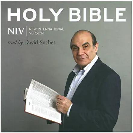 Bible read by David Suchet
