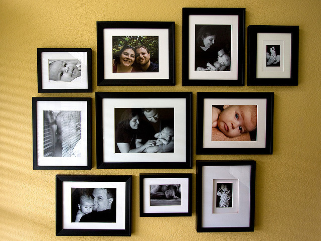 Create a grouping of photos