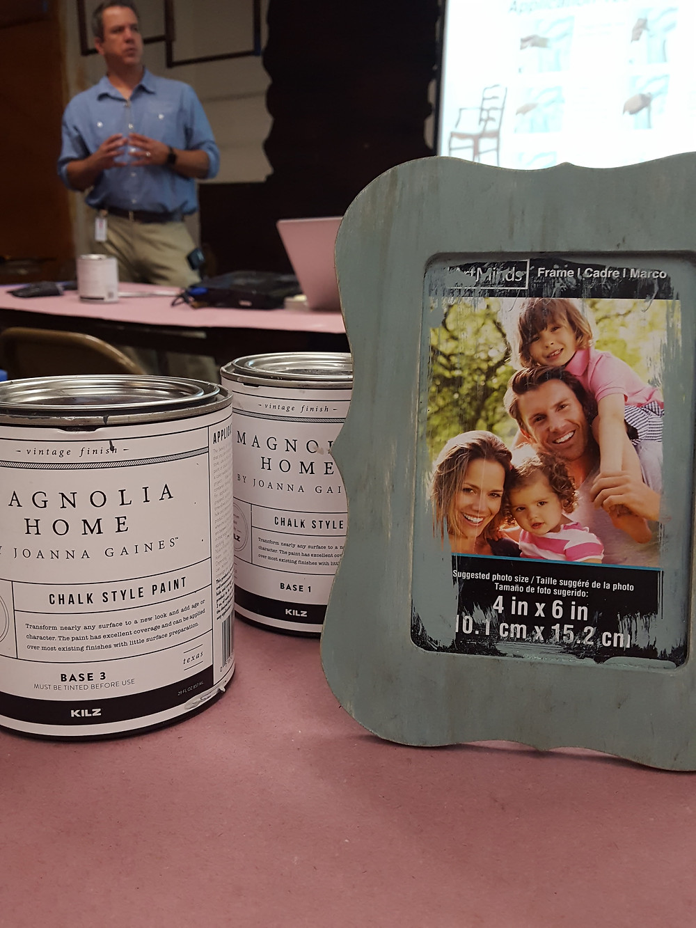 Magnolia Homes chalk style paint