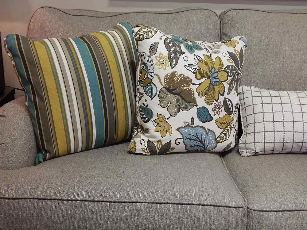mixing patterned fabrics