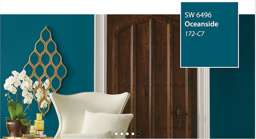 Sherwin Williams Color of the Year Oceanside