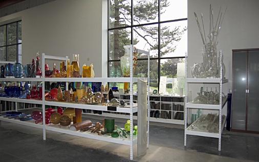 art glass at Savoy Studios