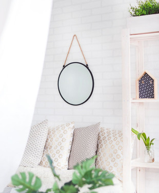 The secret to decorating with white walls