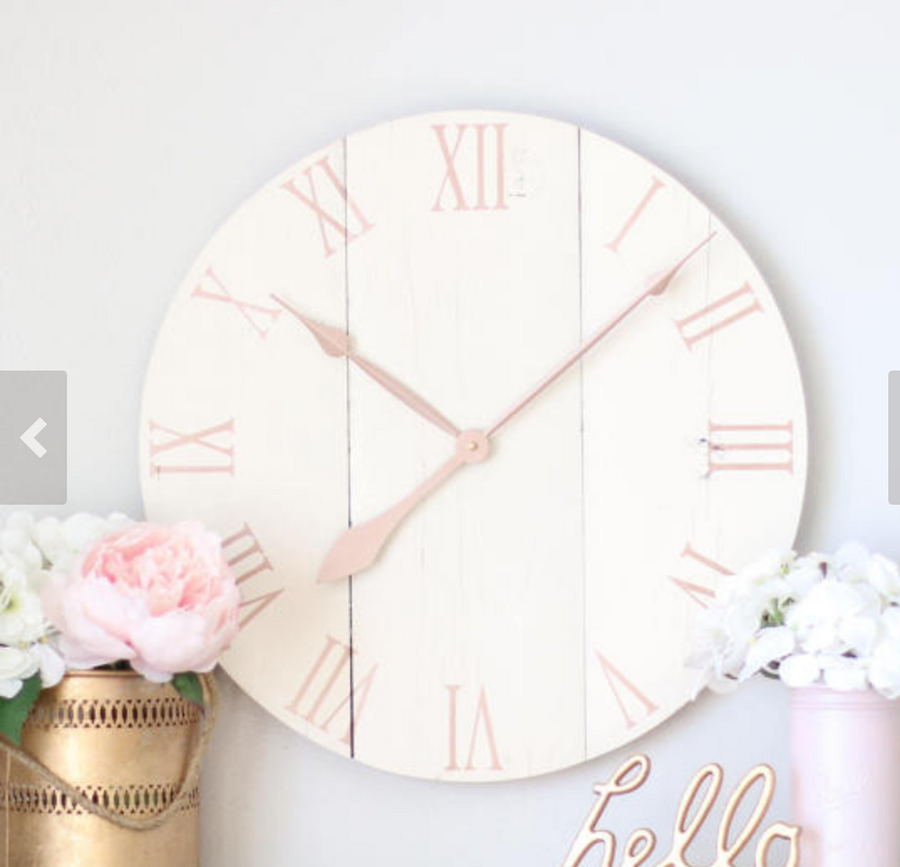 decorate with clocks