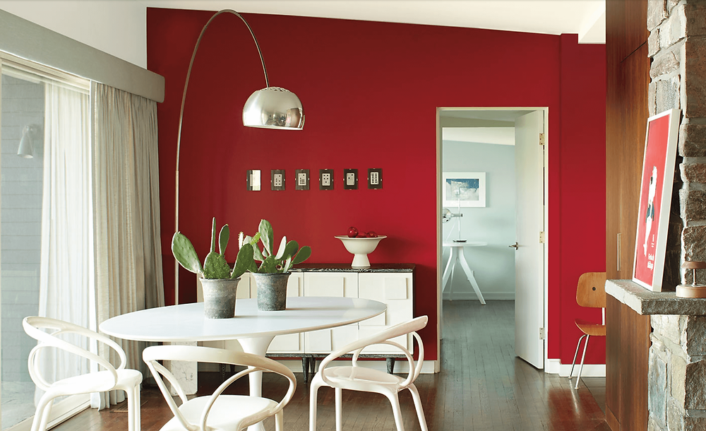 Paint color of the year Caliente