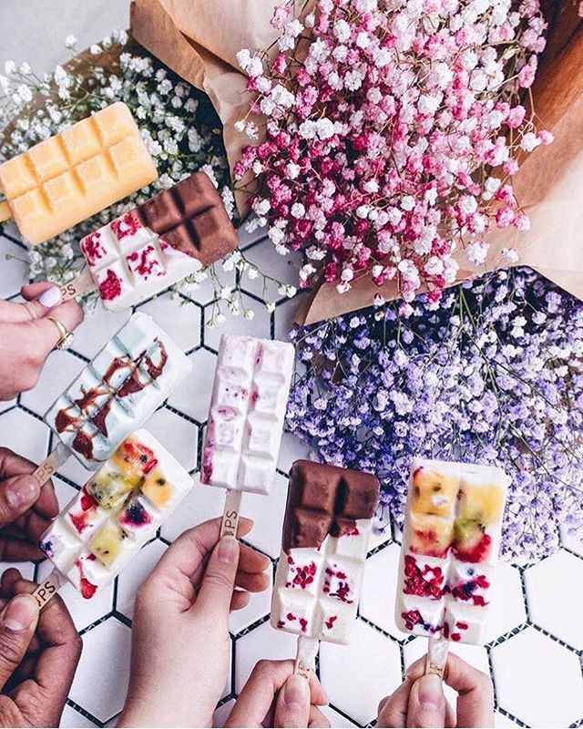 Thank you so much to the creative blogger _msyan_ for this amazing drooling picture of our icepops!!