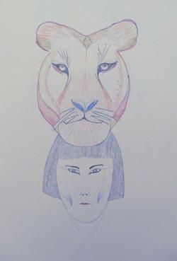 Lioness Totem