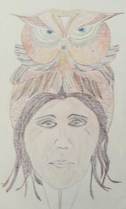 Eagle Owl Totem 1