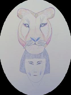 Lioness Totem 2