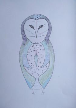 Barn Owl Totem1