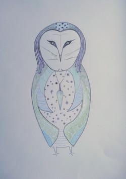 Barn Owl Totem