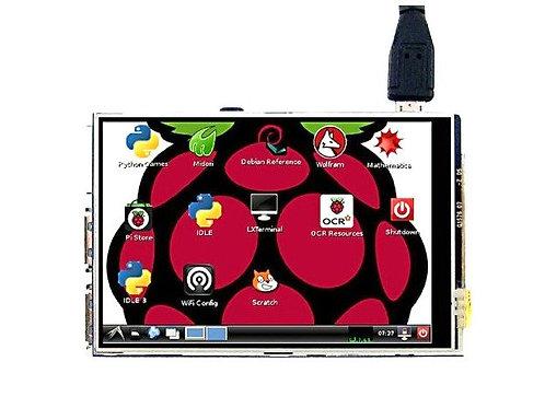 "3.5"" TFT Raspberry Pi 3 Touch Screen"