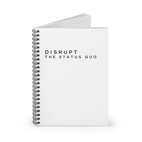 DTSQ Spiral Notebook